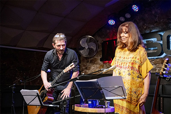 Maria del Mar Bonet with Borja Penalba